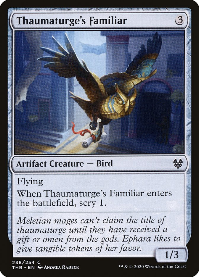Thaumaturge's Familiar