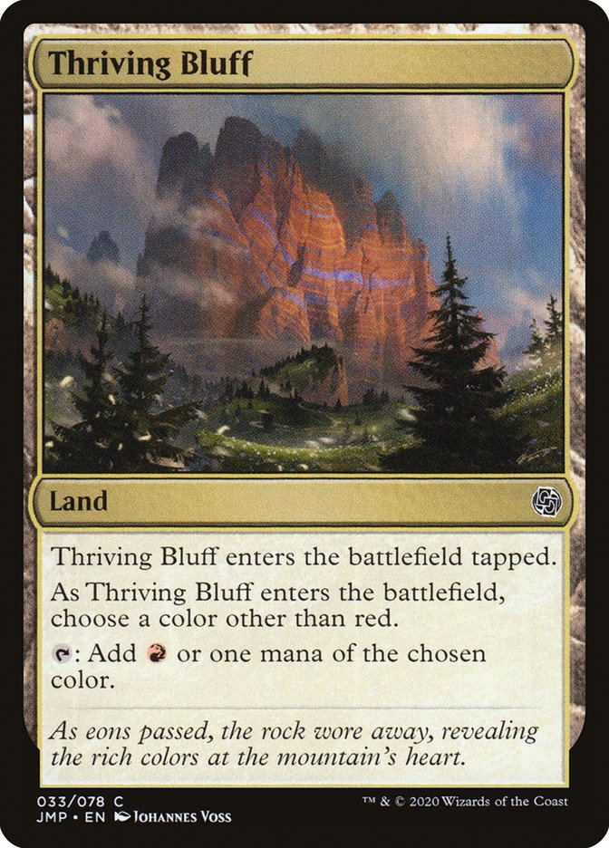 Thriving Bluff