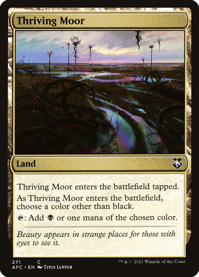 Thriving Moor