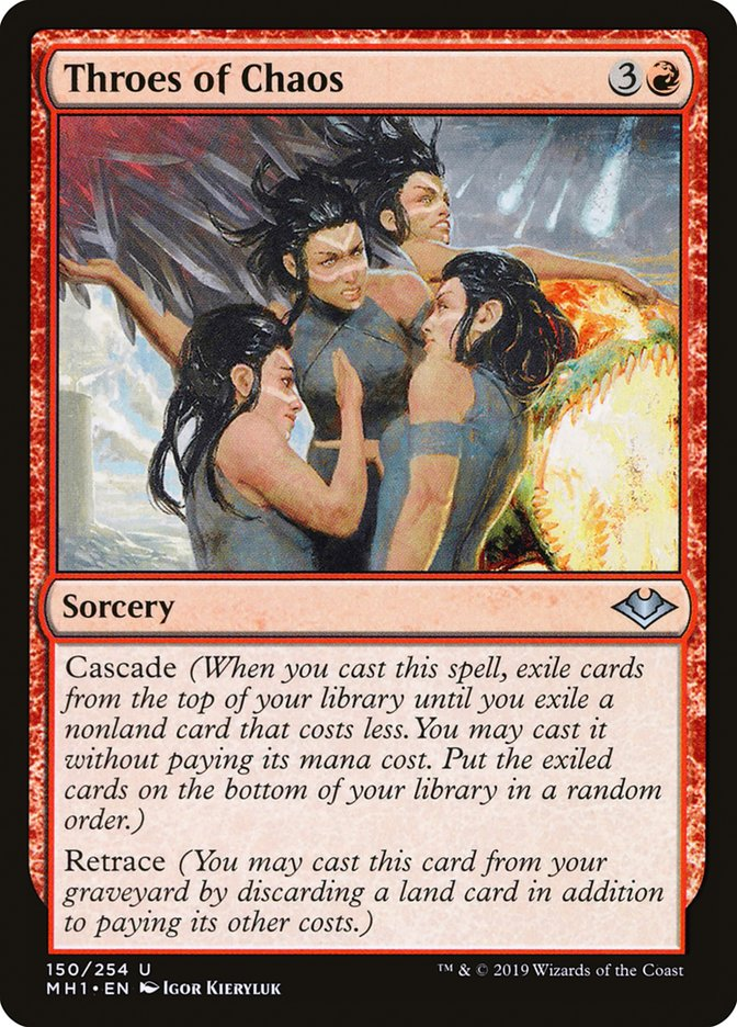 Throes of Chaos - Magic: The Gathering Card Info