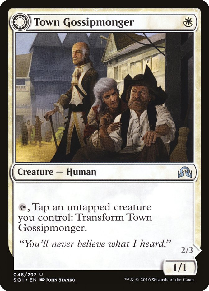 Town Gossipmonger // Incited Rabble