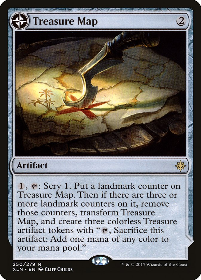 Treasure Map // Treasure Cove