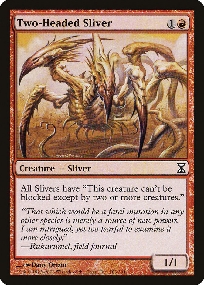 Two-Headed Sliver