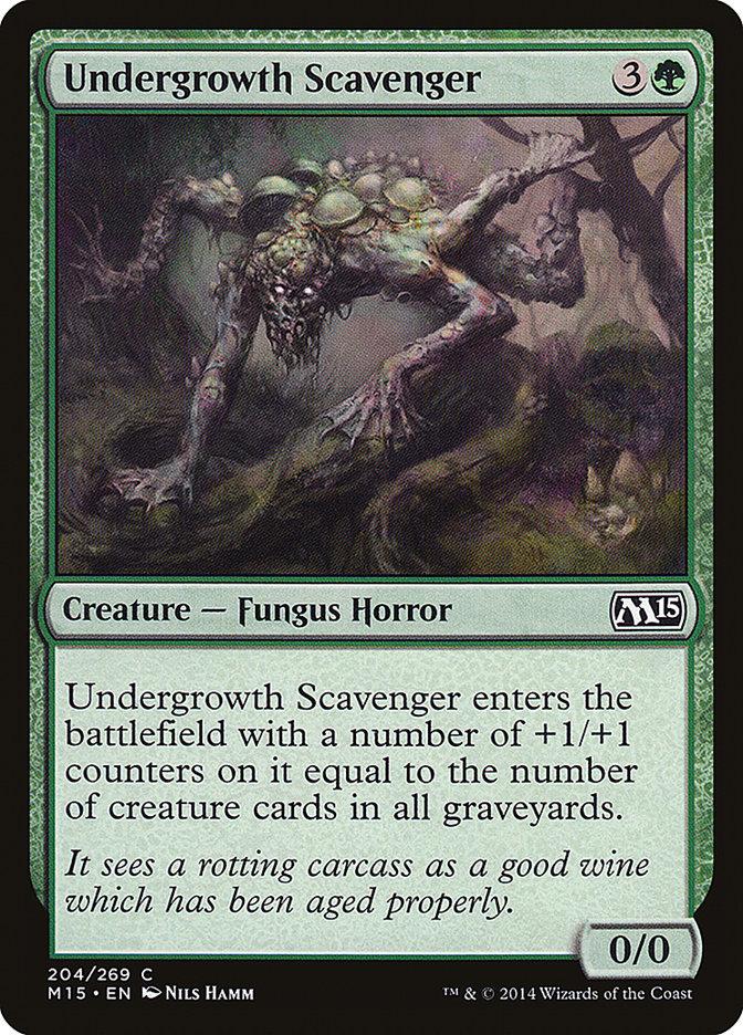 Undergrowth Scavenger