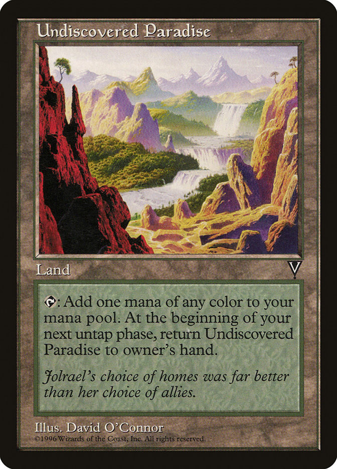 an undiscovered paradise Find great deals on ebay for undiscovered paradise mtg shop with confidence.