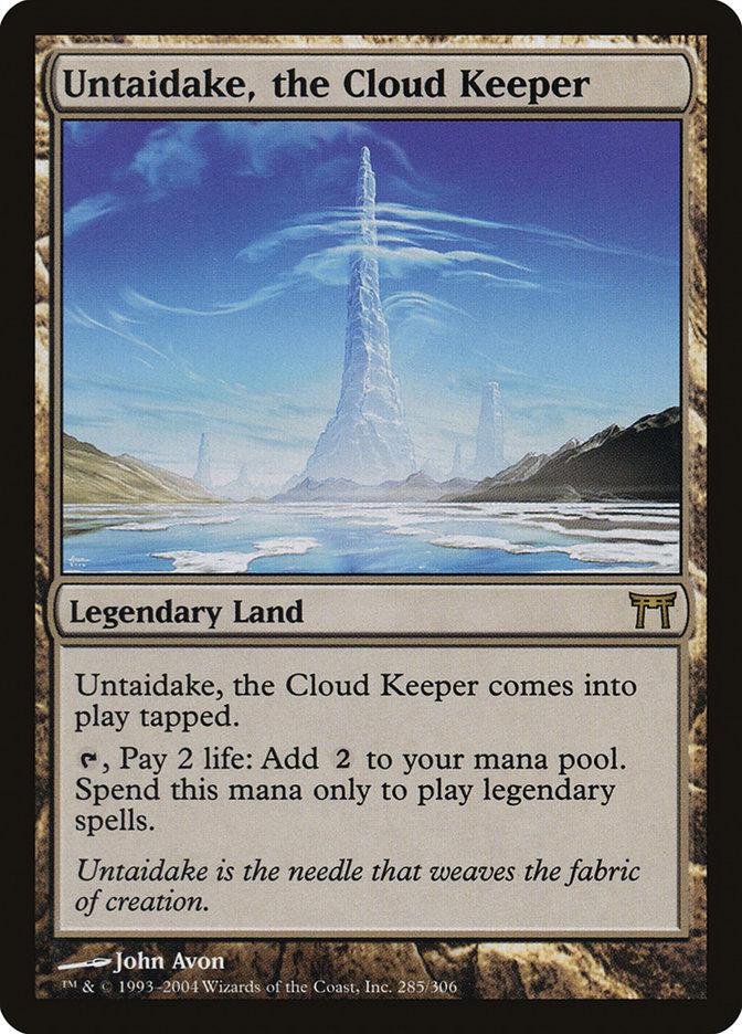 Untaidake, the Cloud Keeper