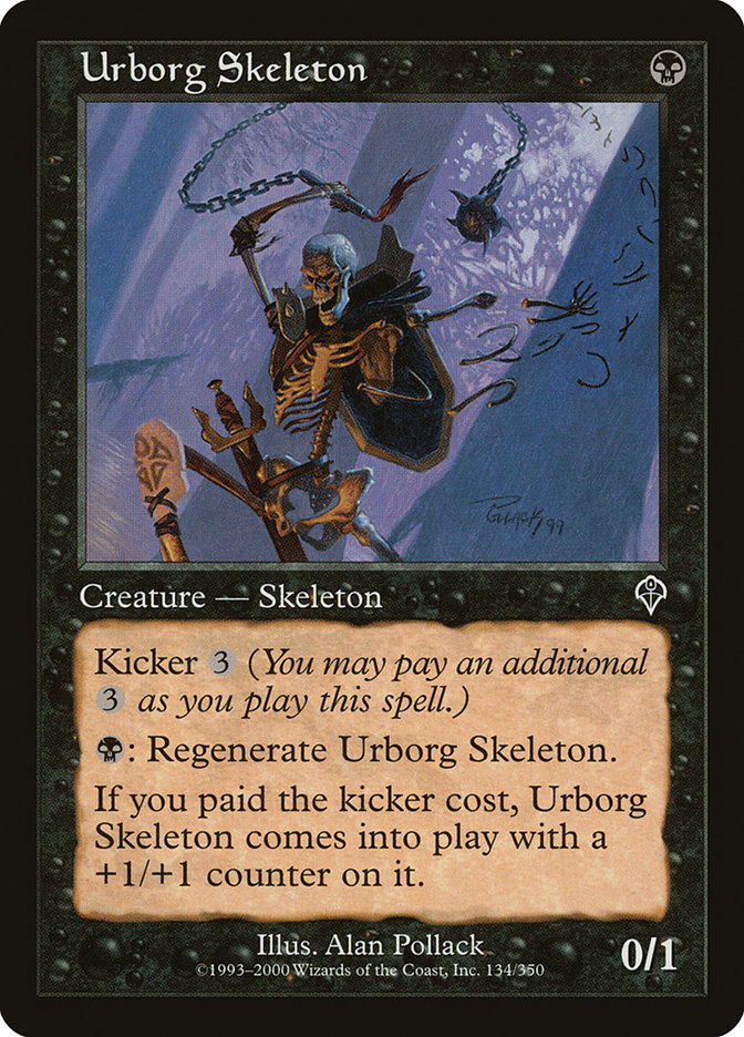 Urborg Skeleton