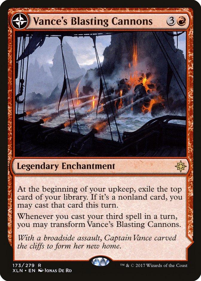 Vance's Blasting Cannons // Spitfire Bastion