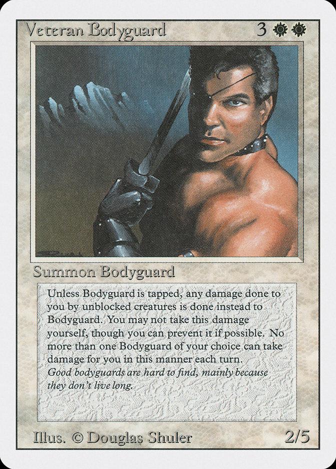Veteran Bodyguard