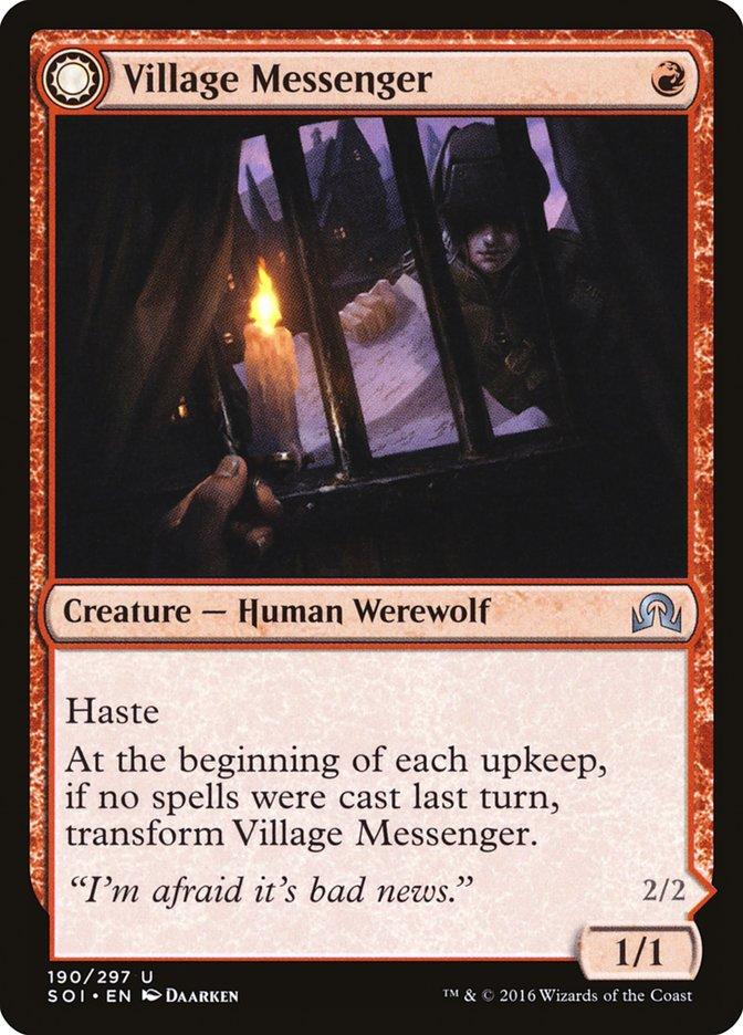 Village Messenger // Moonrise Intruder
