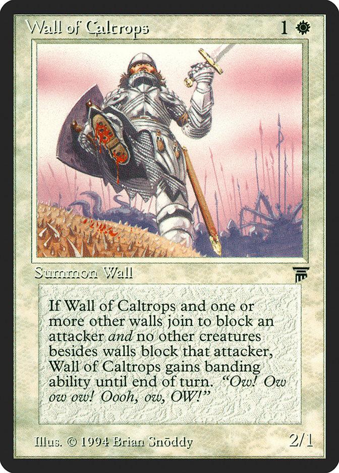 Wall of Caltrops