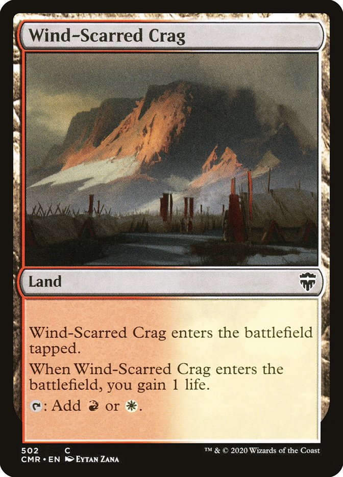 Wind-Scarred Crag