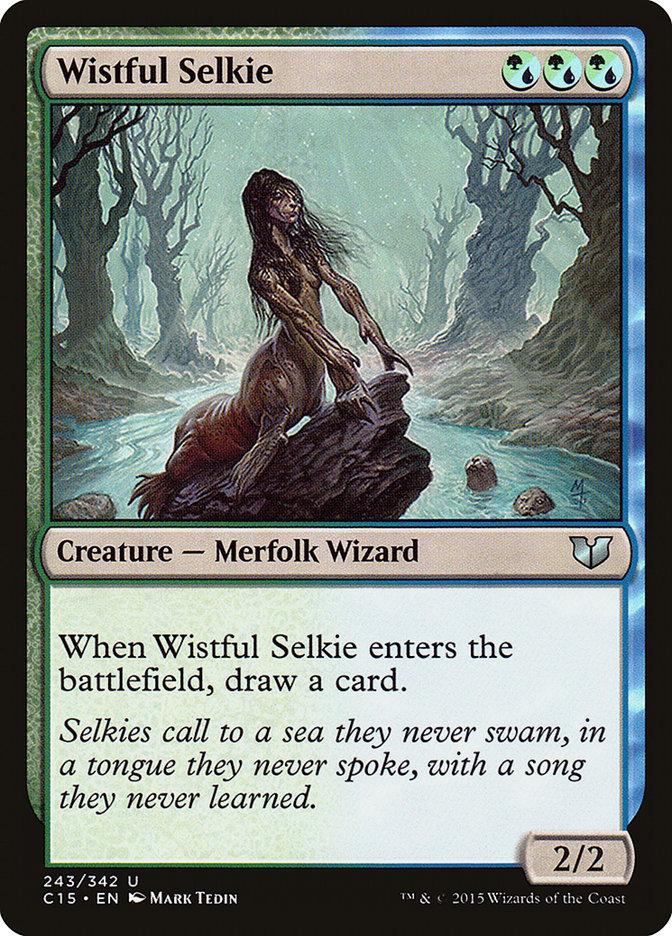 Wistful Selkie