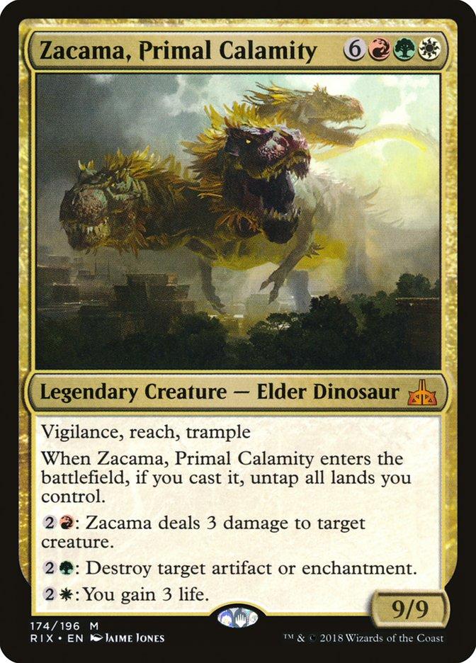 Zacama, Primal Calamity