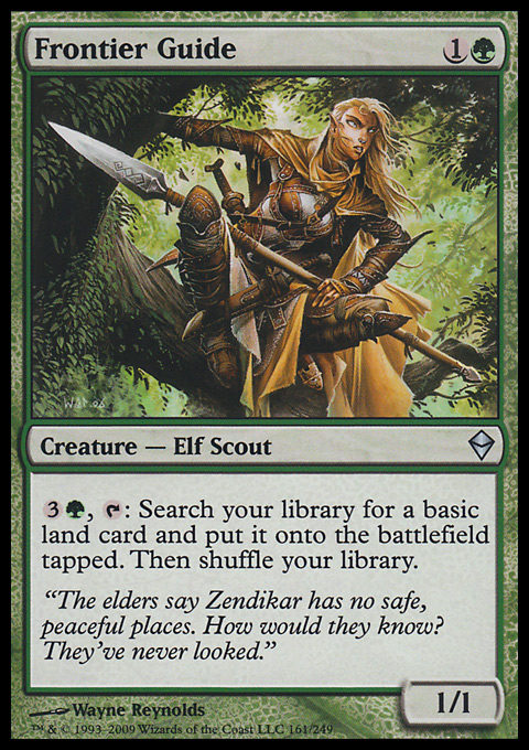 Frontier Guide - Infos zur Magic: The Gathering Karte  Frontier Guide