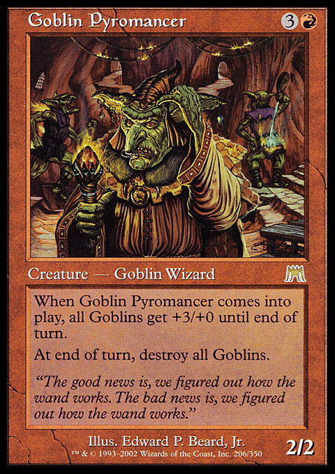 Goblin Warchief Magic The Gathering Card Info - Www imagez co
