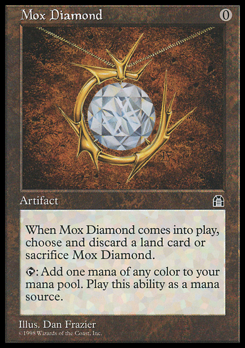 mox diamond magic the gathering card info. Black Bedroom Furniture Sets. Home Design Ideas