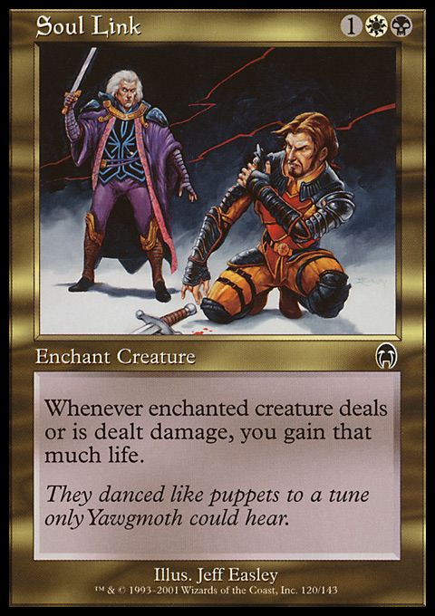 Soul Link - Magic: The Gathering Card Info