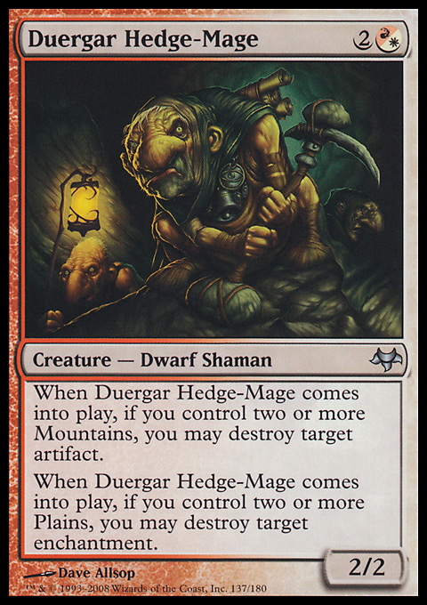 Duergar Hedge-Mage