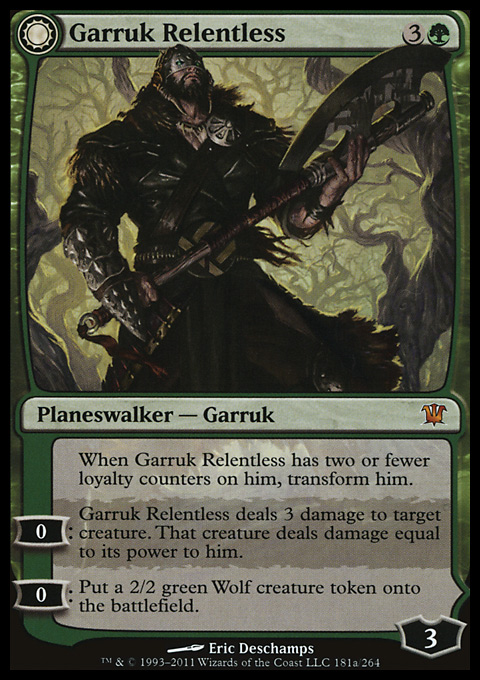Garruk Relentless