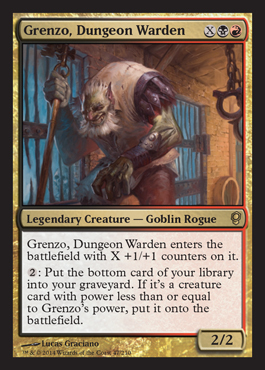Grenzo, with Ten Infinite Combos and How To Get There (EDH