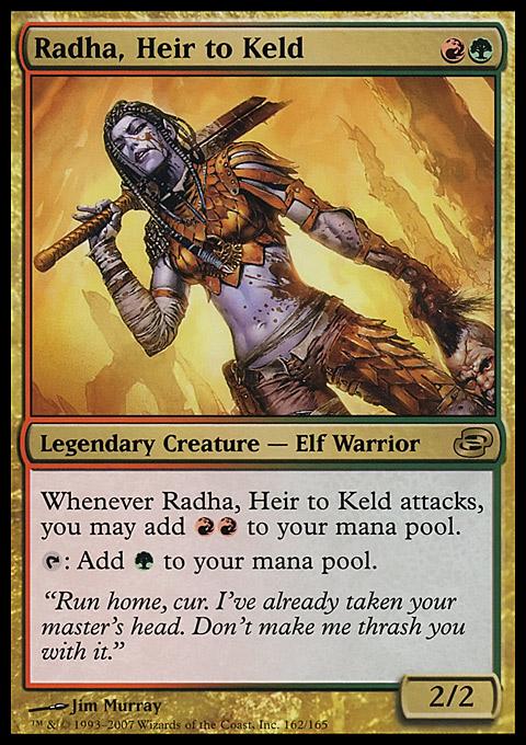 Radha 16/03/2019 (EDH / Commander) — deckstats net | Magic