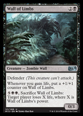 Wall of Limbs